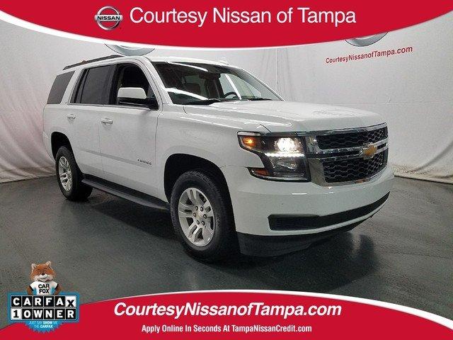 Photo Pre-Owned 2017 Chevrolet Tahoe LT SUV in Jacksonville FL