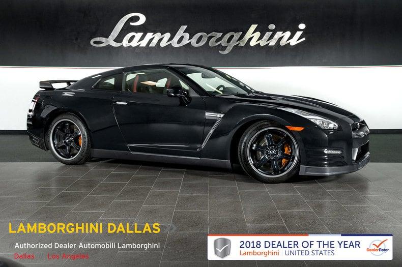 Photo Used 2013 Nissan GT-R Black Edition For Sale Richardson,TX  Stock LT1111 VIN JN1AR5EF7DM261275
