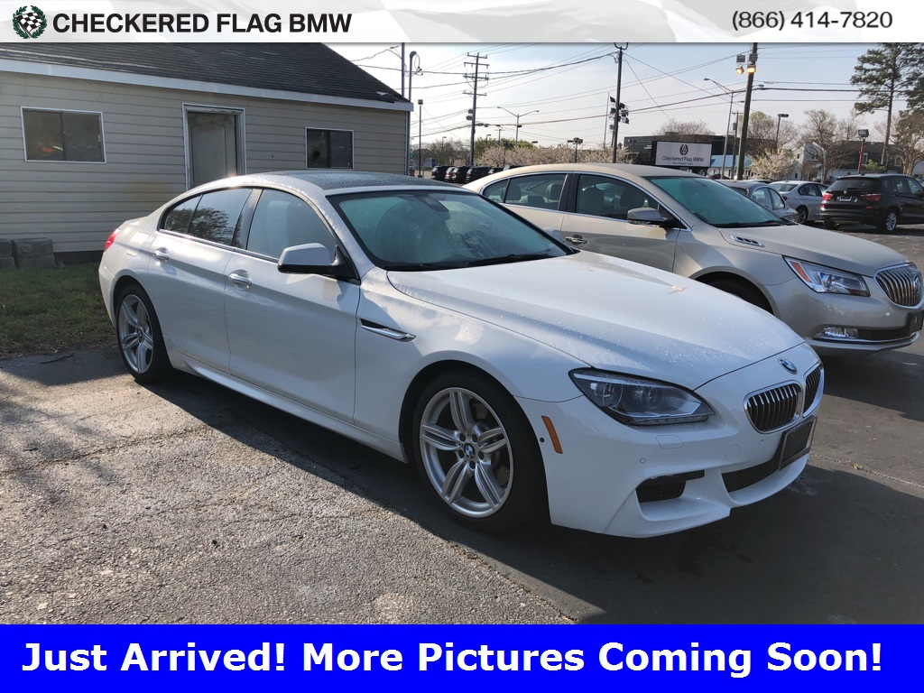 Photo Certified Pre-Owned 2015 BMW 6 Series 640i Gran Coupe RWD 4D Sedan