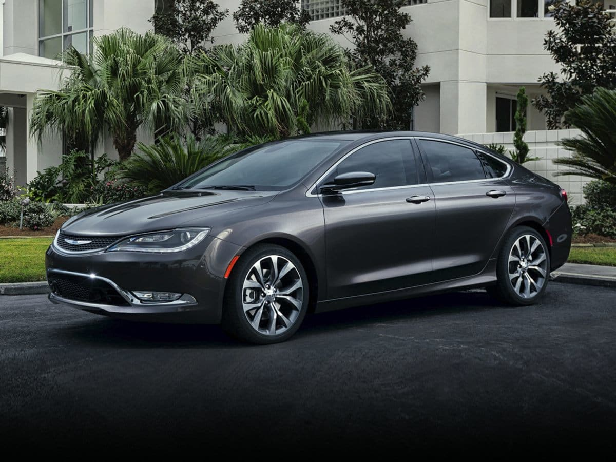Photo Used 2015 Chrysler 200 For Sale  Bel Air MD