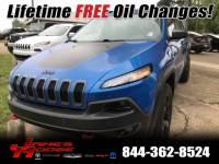 Used 2017 Jeep Cherokee Trailhawk SUV