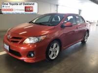 Certified Pre-Owned 2013 Toyota Corolla LE Sedan in Oakland, CA