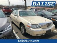 Used 2003 Lincoln Town Car Cartier for sale in West Springfield, MA