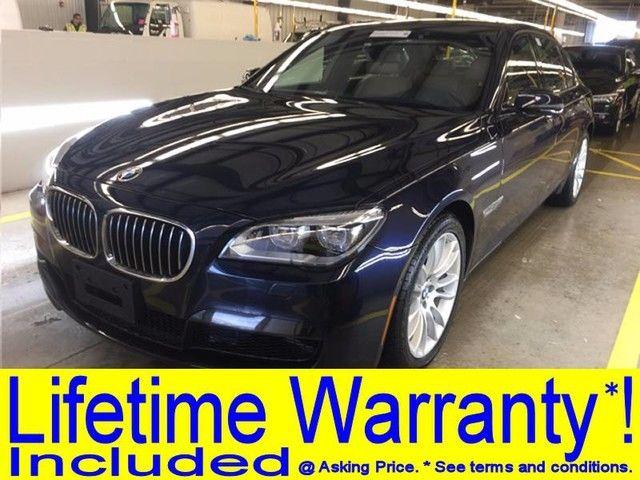 Photo 2015 BMW 750Li xDrive M SPORT DRIVER ASSIST PLUS BLIND SPOT MONITOR HEADS UP DISPLAY NAVIGATION