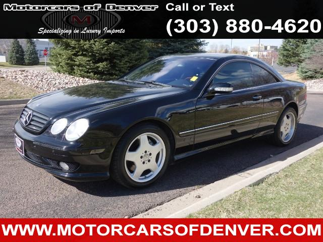 Photo 2002 Mercedes-Benz CL-Class CL55 AMG ALL RECORDS NEW TIRES VERY CLEAN