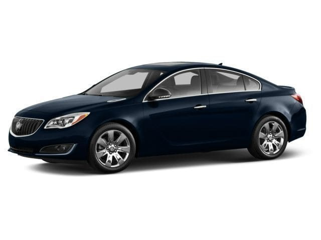 Photo 2014 Certified Used Buick Regal Sedan Turbo Premium II Graphite Blue For Sale Manchester NH  Nashua  StockG18362A