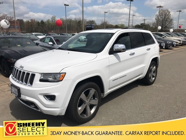 Photo 2015 Jeep Grand Cherokee Overland SUV V-6 cyl