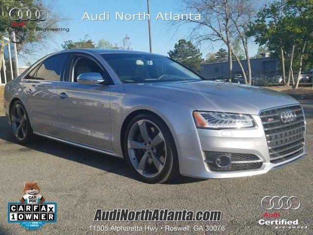 Photo Certified 2015 Audi S8 4.0T Sedan in Atlanta GA