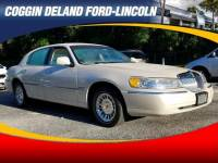 Pre-Owned 1999 Lincoln Town Car Cartier Sedan in Jacksonville FL
