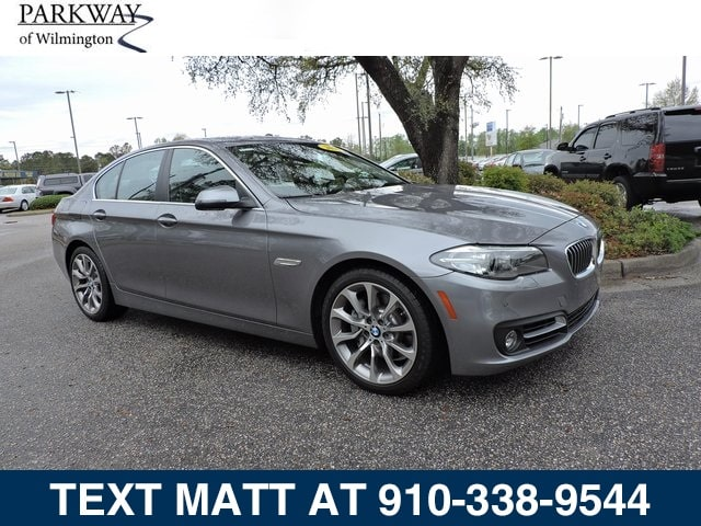 Photo Used 2016 BMW 5 Series 535i For Sale  Wilmington NC