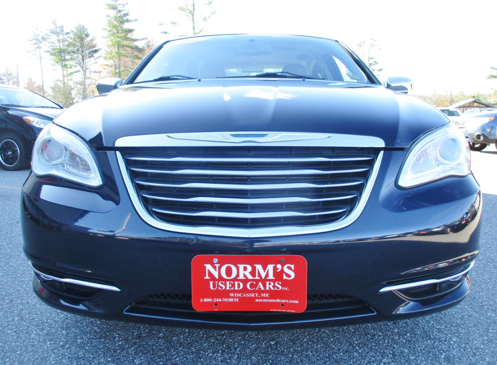 Photo Used 2012 Chrysler 200 For Sale  Wiscasset ME