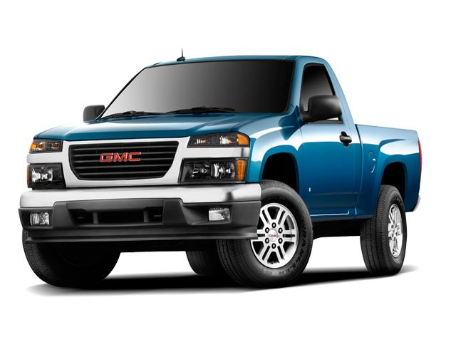 Photo Pre-Owned 2009 GMC Canyon Work Truck 2WD RWD Regular Cab Pickup