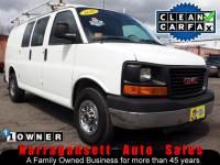 2010 GMC Savana 2500 V-8 Auto Air Rack+Bins 1-Owner Super Clean