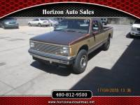 1985 Chevrolet S10 Regular Cab 4WD