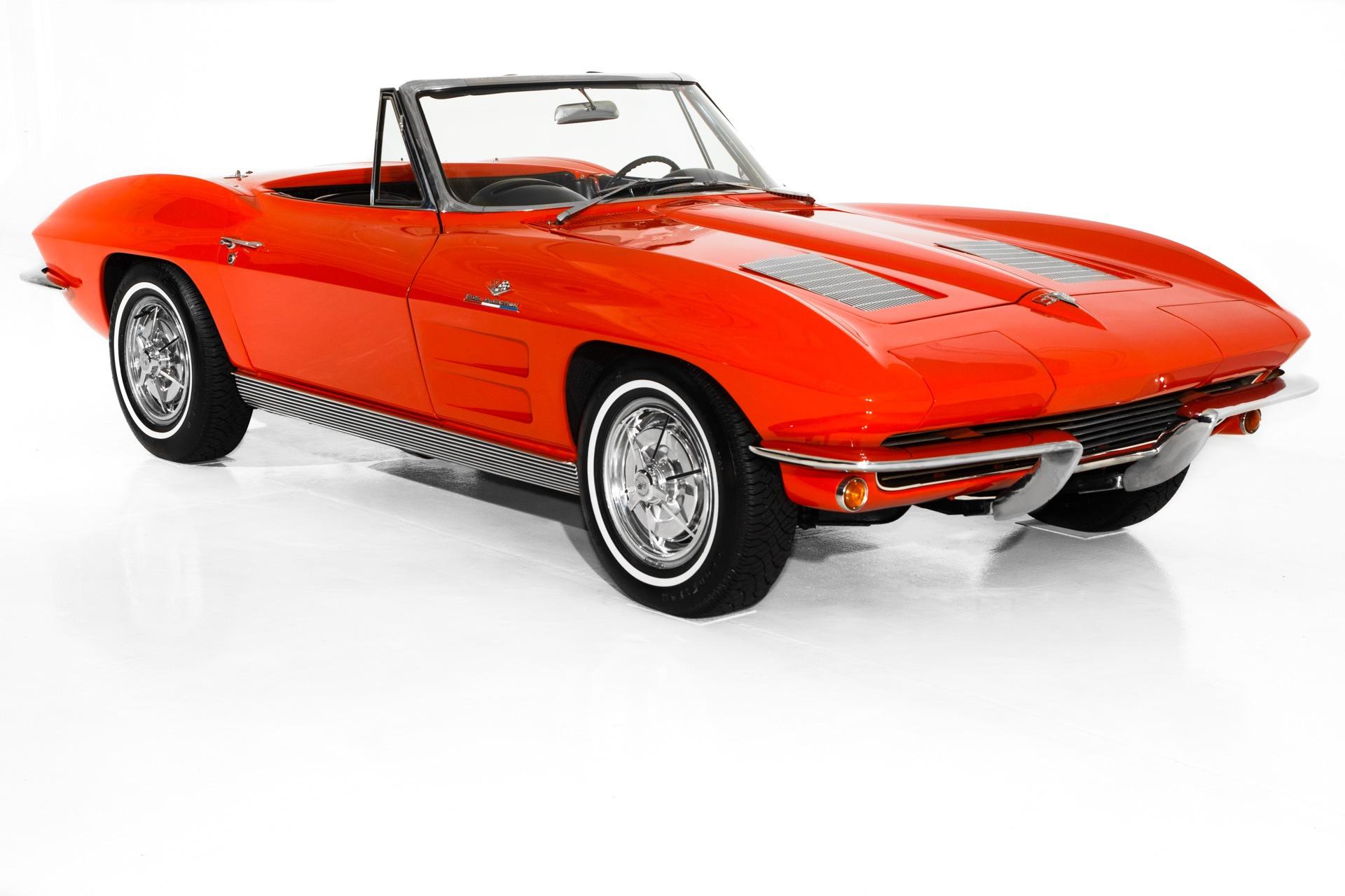 Photo 1963 Chevrolet Corvette Fuelie 327360 4-Spd 2 Tops