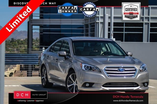 Photo Certified Pre-Owned 2015 Subaru Legacy 4dr Sdn 3.6R Limited in Temecula