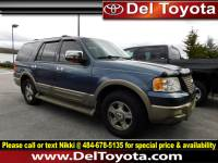 Used 2003 Ford Expedition Eddie Bauer For Sale | Serving Thorndale, West Chester, Thorndale, Coatesville, PA | VIN: 1FMFU18L53LC54840
