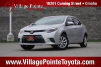 2015 Toyota Corolla LE Sedan FWD for sale in Omaha