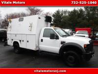 2008 Ford F-550 ENCLOSED UTILITY BODY HEAVY DUTY SERVICE TRUCK