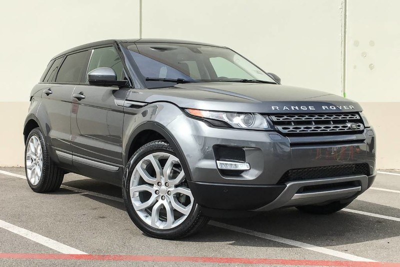 Photo Certified Pre-Owned 2015 Land Rover Range Rover Evoque Pure Plus Four Wheel Drive SUV