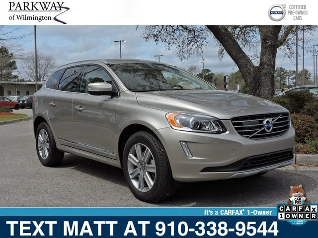 Photo Certified Used 2016 Volvo XC60 T6 Drive-E Platinum For Sale  Wilmington NC