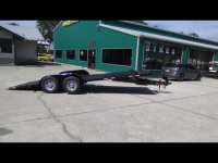 2018 Car Hauler Open Deck
