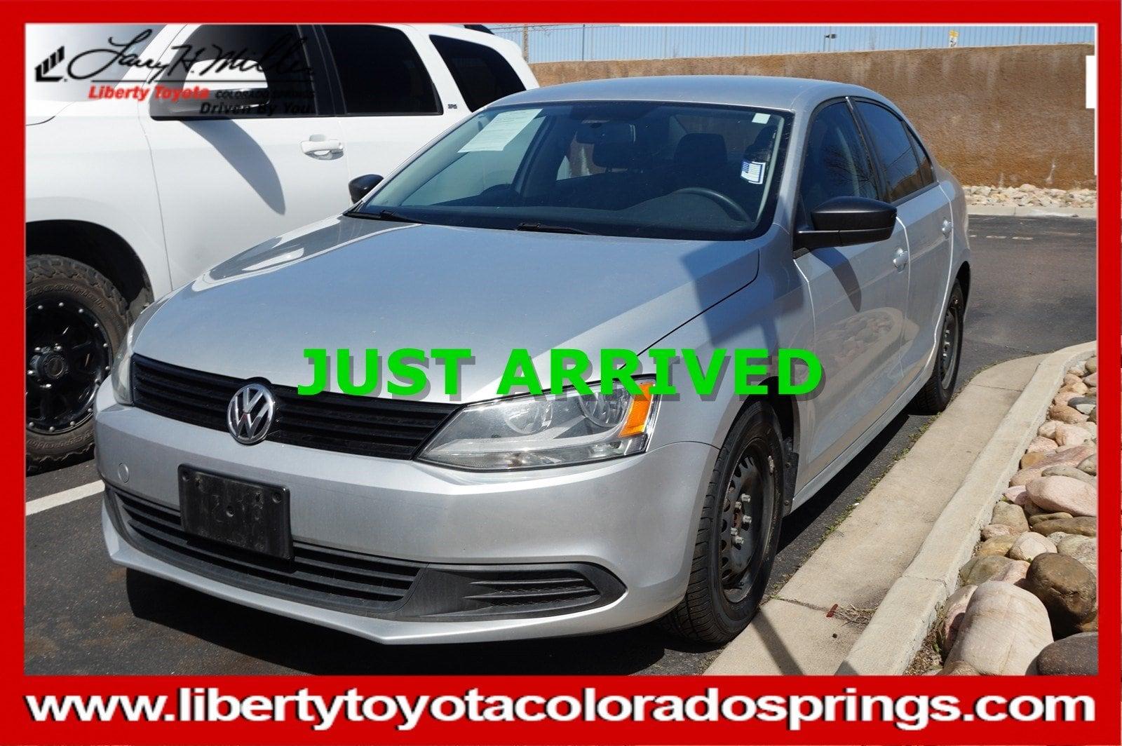 Photo Used 2012 Volkswagen Jetta Sedan S Manual Base For Sale in Colorado Springs, CO