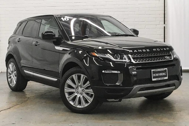 Photo Certified Pre-Owned 2016 Land Rover Range Rover Evoque HSE Four Wheel Drive 4 Door SUV