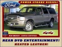 2005 Ford Excursion Limited 4x4 - REAR DVD - TURBO DIESEL!