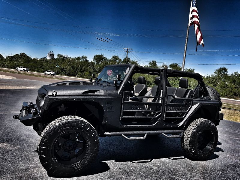 Photo Used 2017 Jeep Wrangler Unlimited KEVLAR LIFTED LEATHER NAVIGATION HARDTOP 24S