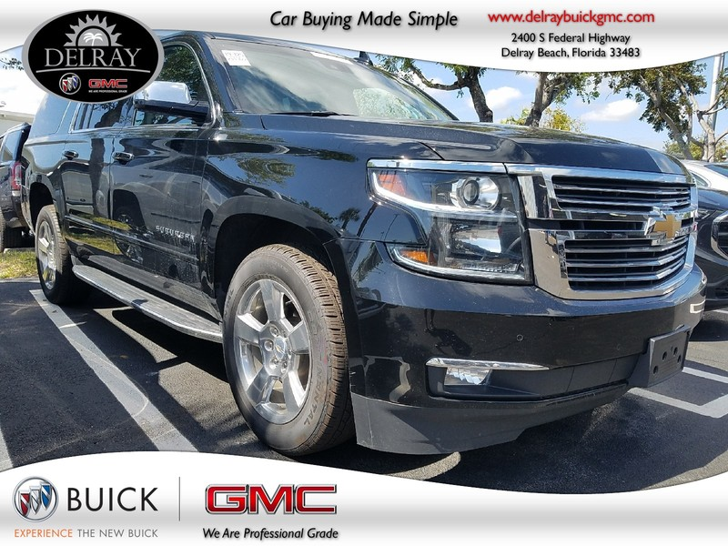 Photo Pre-Owned 2017 CHEVROLET SUBURBAN PREMIER Rear Wheel Drive Sport Utility Vehicle