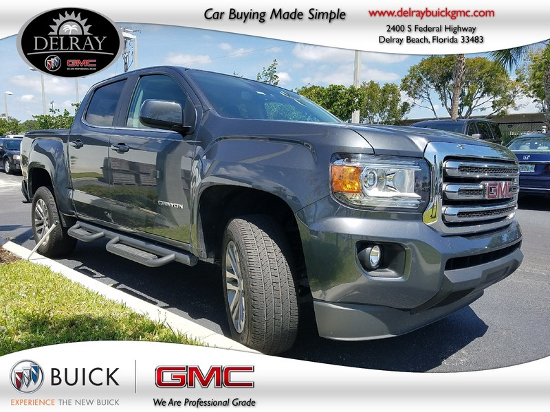 Photo Pre-Owned 2016 GMC CANYON 2WD SLE Rear Wheel Drive Crew Cab Pickup