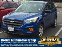 Used 2017 Ford Escape S SUV I-4 cyl for Sale in Puyallup near Tacoma