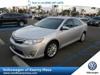2014 Toyota Camry XLE Sedan Front Wheel Drive