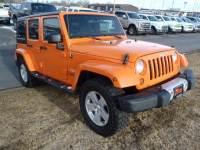2012 Jeep Wrangler Unlimited Sahara SUV V-6 cyl