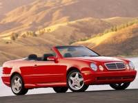 Pre-Owned 2002 Mercedes-Benz CLK-Class Base Convertible in Denver