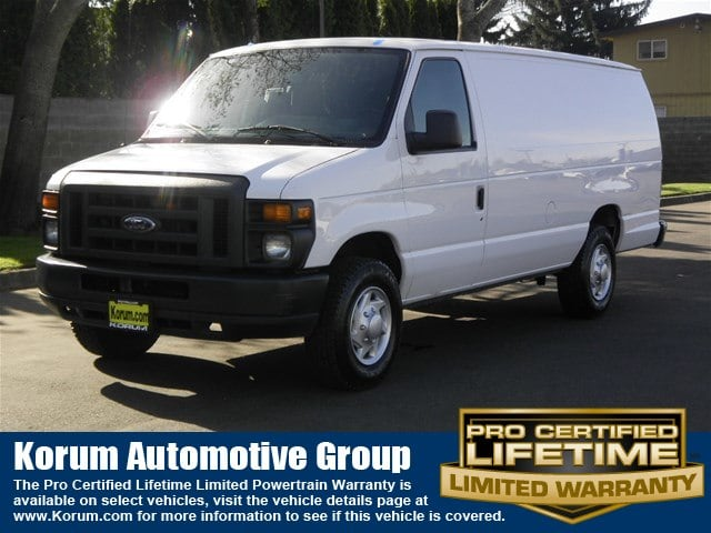 Photo Used 2013 Ford E-250 Commercial Van V-8 cyl for Sale in Puyallup near Tacoma