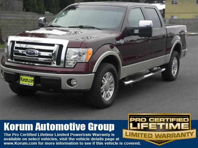 Photo Used 2009 Ford F-150 King Ranch Truck SuperCrew Cab V-8 cyl for Sale in Puyallup near Tacoma