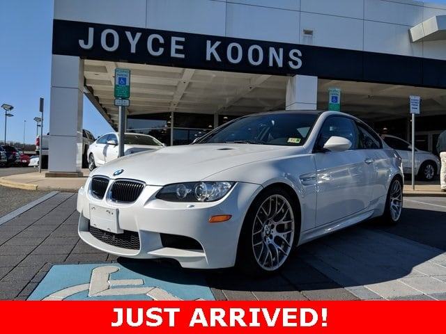Photo Used 2012 BMW M3 Coupe for sale in Manassas VA