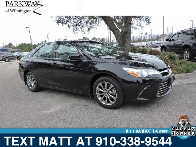 Photo Used 2015 Toyota Camry XLE For Sale  Wilmington NC