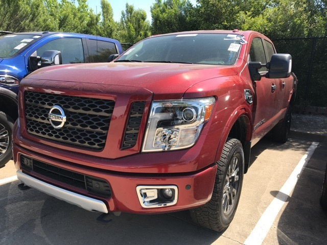 Photo Pre-Owned 2017 Nissan Titan XD PRO-4X Truck Crew Cab For Sale in Frisco TX