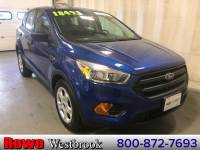 2017 Ford Escape S One Owner Local Trade In! SUV 4 cyls