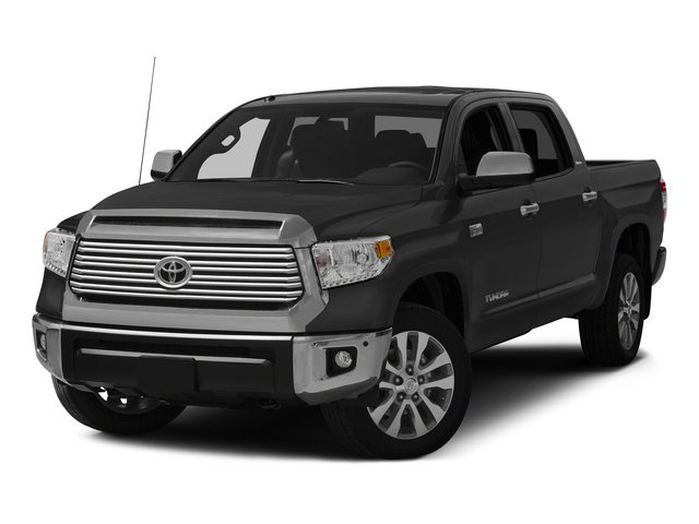 Photo Pre-Owned 2015 Toyota Tundra BLACK 4WD Crew Cab Pickup