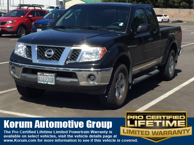 Photo Used 2010 Nissan Frontier Truck King Cab V-6 cyl for Sale in Puyallup near Tacoma