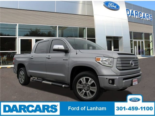 Photo Used 2016 Toyota Tundra 4WD Truck Platinum Pickup Truck 8-Cyl Engine