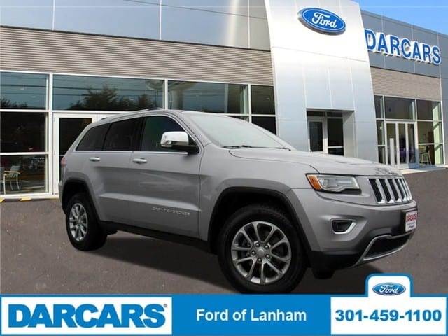Photo Used 2015 Jeep Grand Cherokee Limited SUV V6 Cylinder Engine