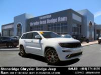 Certified Used 2016 Jeep Grand Cherokee SRT 4x4 SUV For Sale in Dublin CA