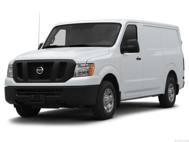 Photo Used 2013 Nissan NV Cargo NV1500 S V6 Van Cargo Van for sale in Barstow CA