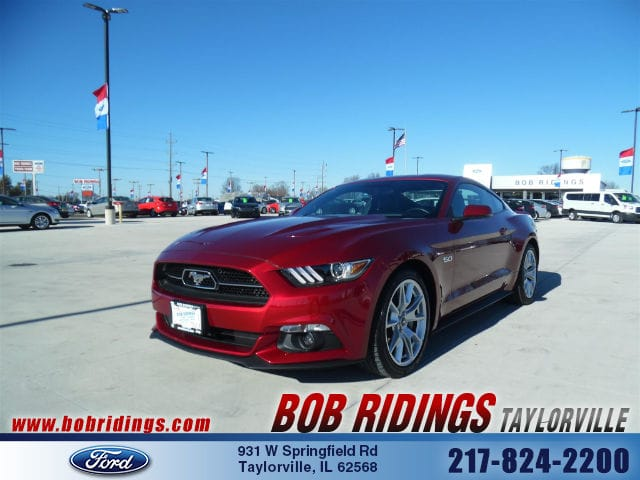 Photo 2015 Ford Mustang GT Premium 50th Anniversary Coupe in Taylorville, IL