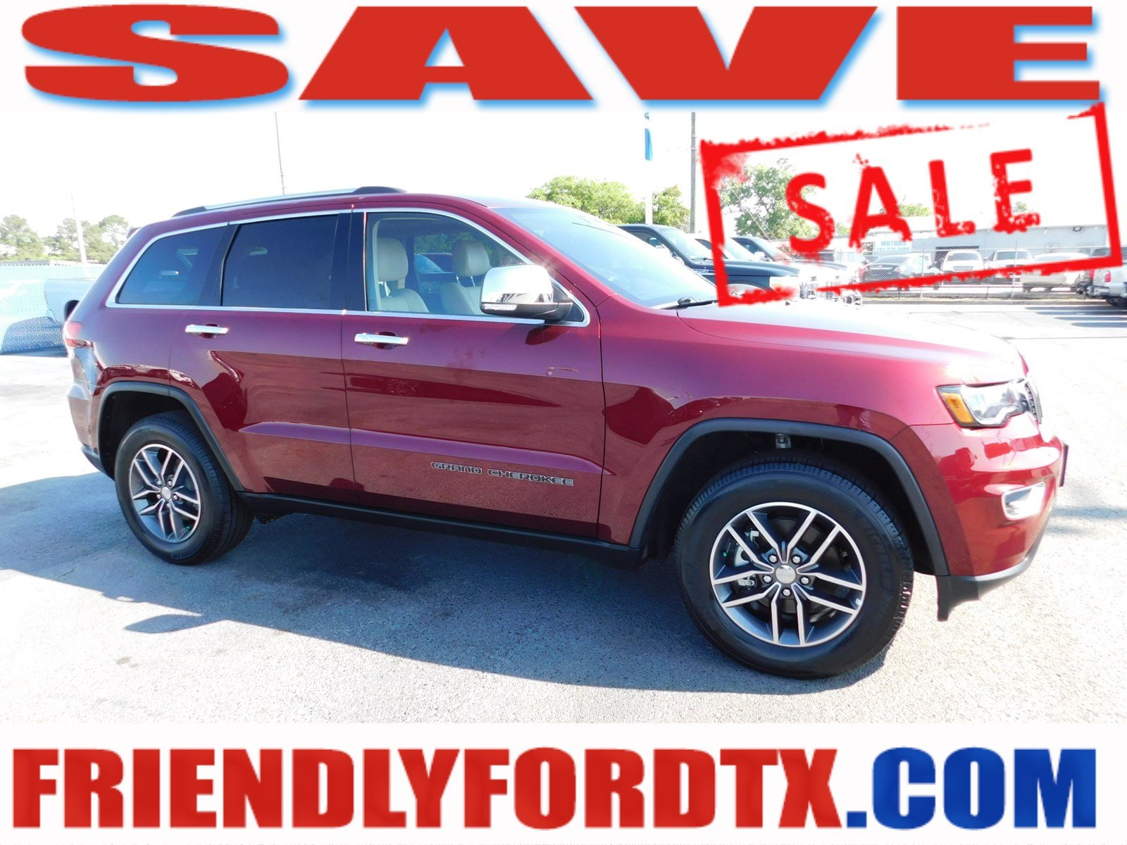 Photo 2018 Jeep Grand Cherokee Limited SUV V-6 cyl near Houston